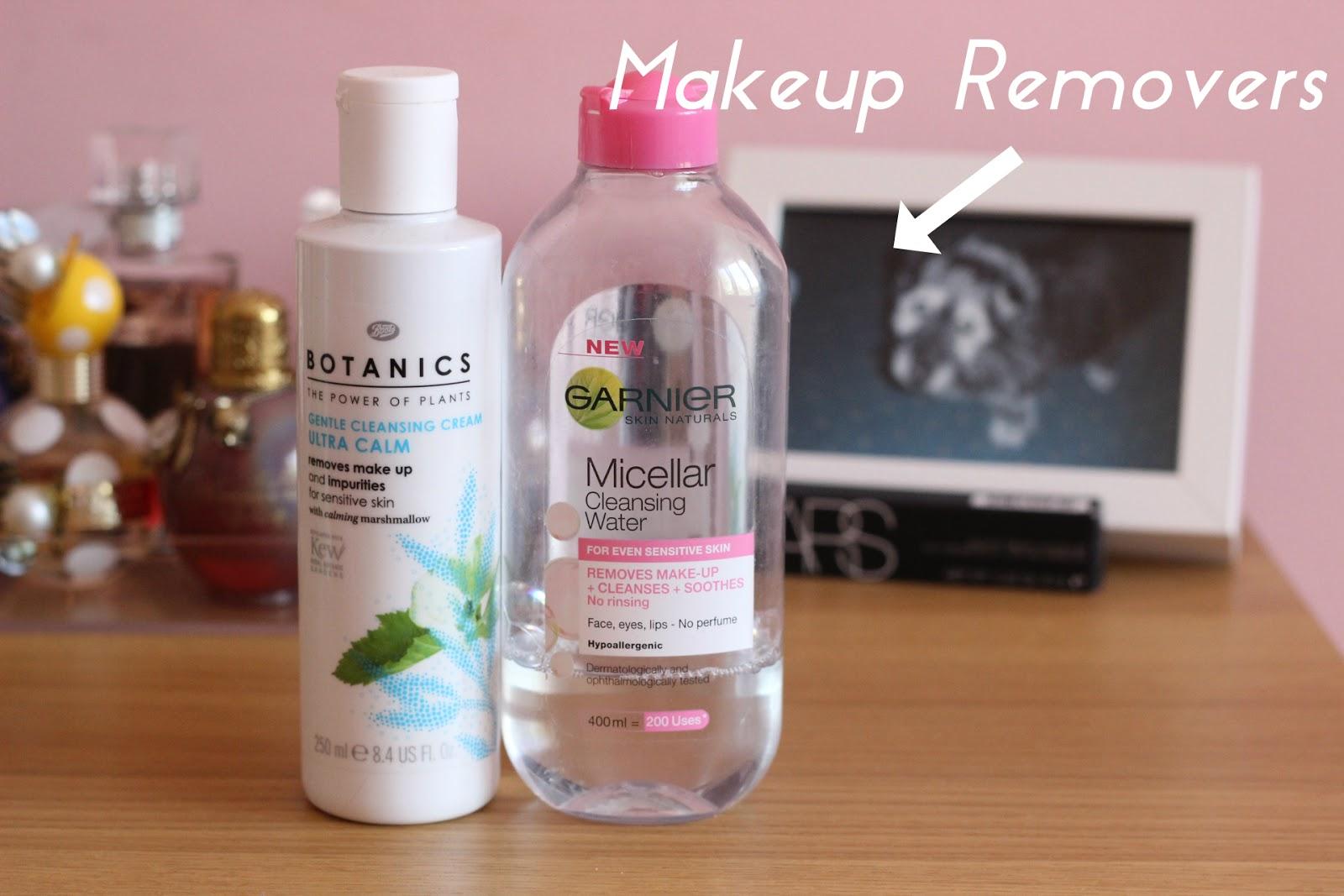 budget, skincare and makeup removers