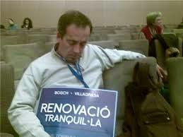El Riera en plena Convención