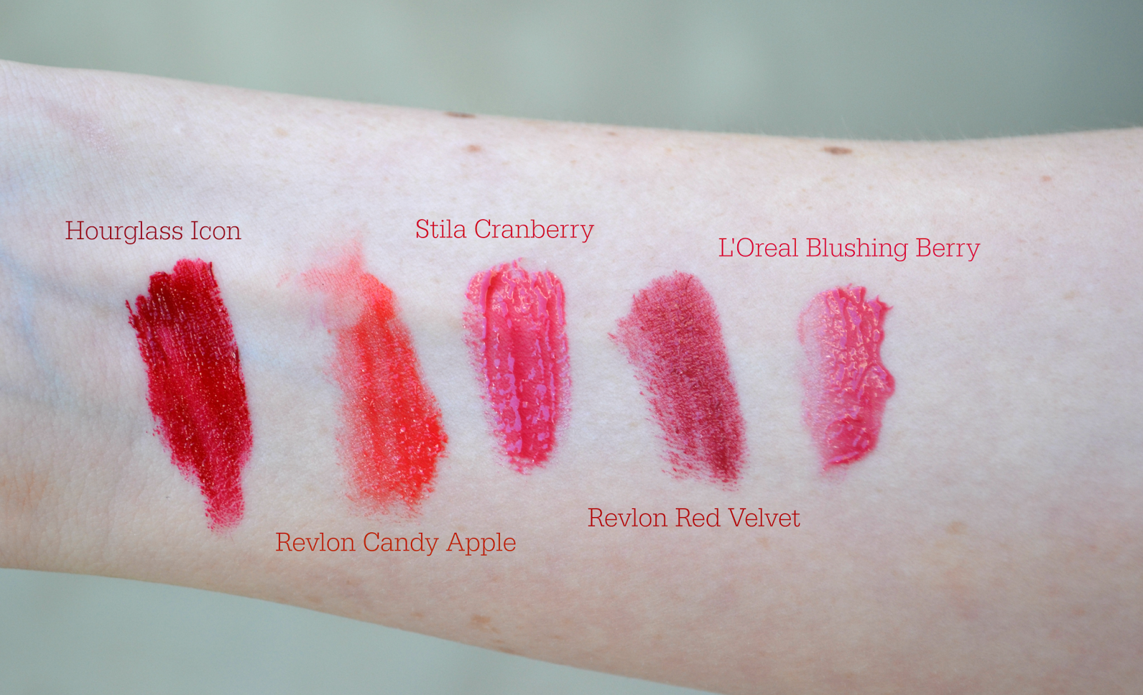 A Peachy Keen Blog- Holiday Lip Colors: Red and Berry Lipsticks