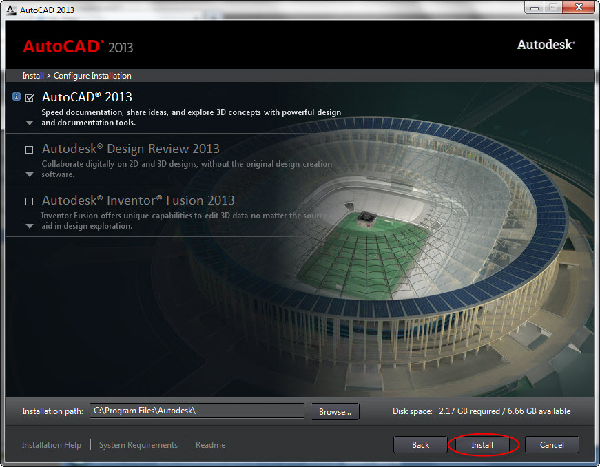AutoCAD 2013 + Keygen Patch