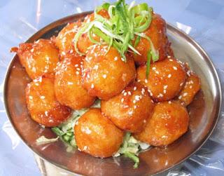 Mock Chicken Balls (Boulettes de poulet Mock )