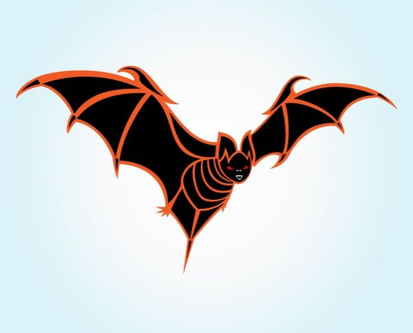 Free Halloween Bat Vector Graphics
