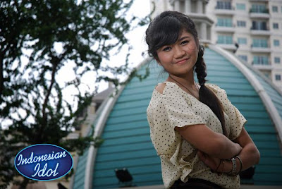Kanza Indonesian Idol 2012