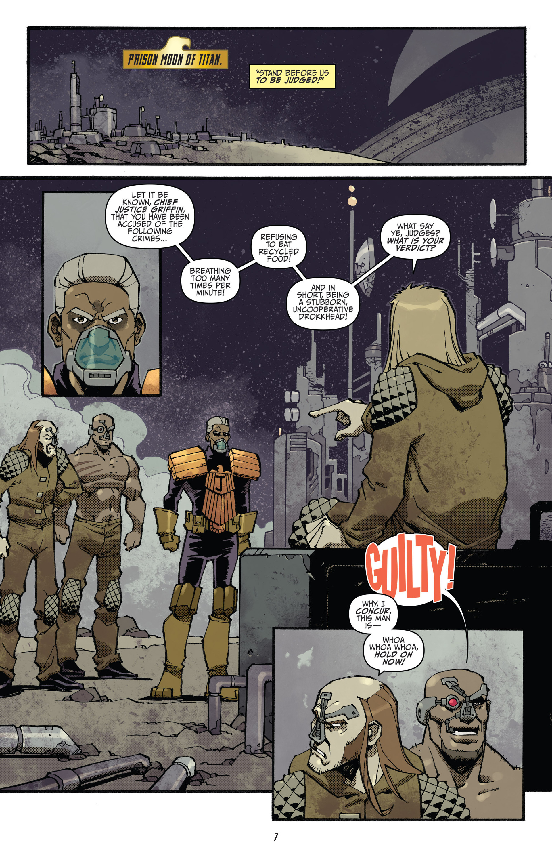 Read online Judge Dredd (2012) comic -  Issue #23 - 9