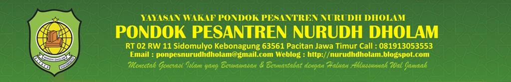 Pondok Pesantren NURUDH DHOLAM