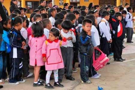 Estudiantes de Tarija retornan a clases el lunes, no habrá ampliación de la vacación