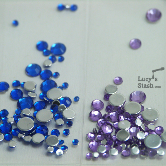 Lucy's Stash - Viva La Nails rhinestones
