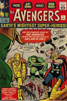 Avengers #1 comic cover