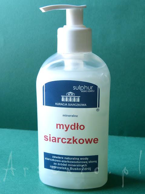 Mineralne mydło siarczkowe Sulphur Busko-Zdrój