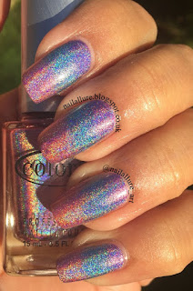 Color Club Halo Hues Miss Bliss, Over the Moon, Eternal Beauty Gradient Manicure