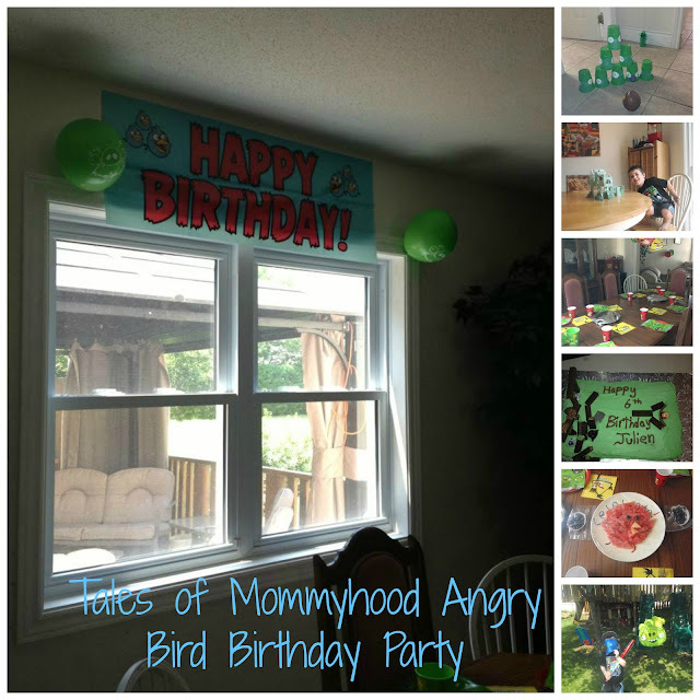 Tales of Mommyhood angry bird party photos