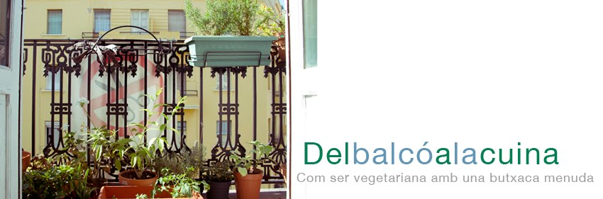Del balcó a la cuina : Receptes vegetarianes