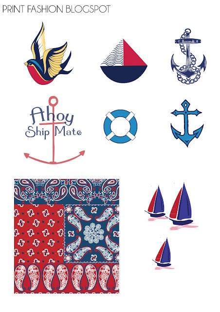 nautical vector clipart
