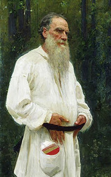 Repin &#39;Portrait of Tolstoy&#39; (1901)