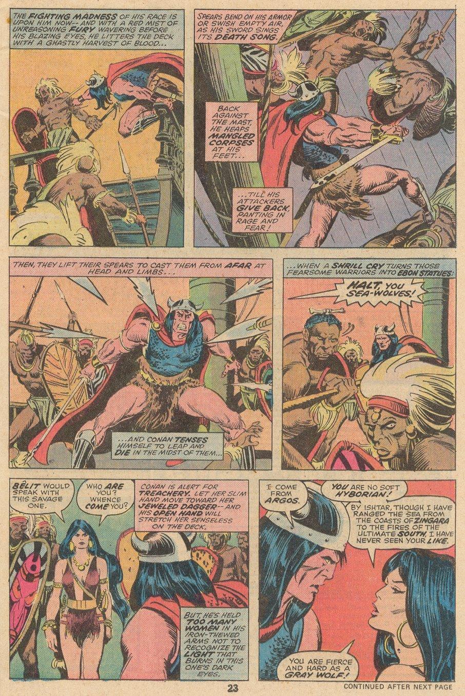 Conan the Barbarian (1970) Issue #58 #70 - English 16