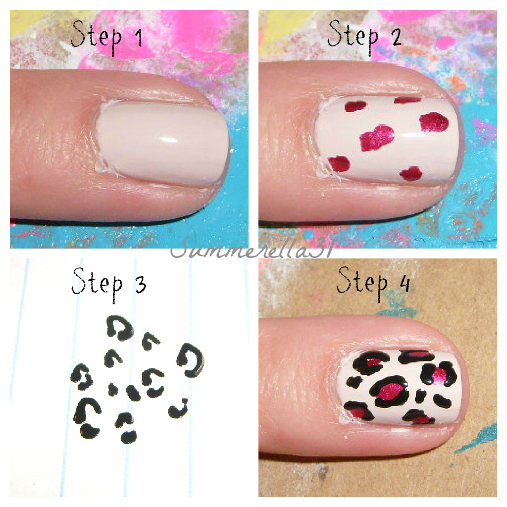 Wonderland Nails Leopard Print Nails Tutorial