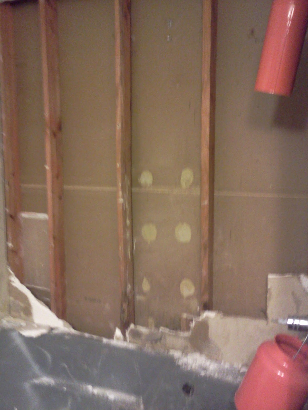 how to demo moldy sheetrock