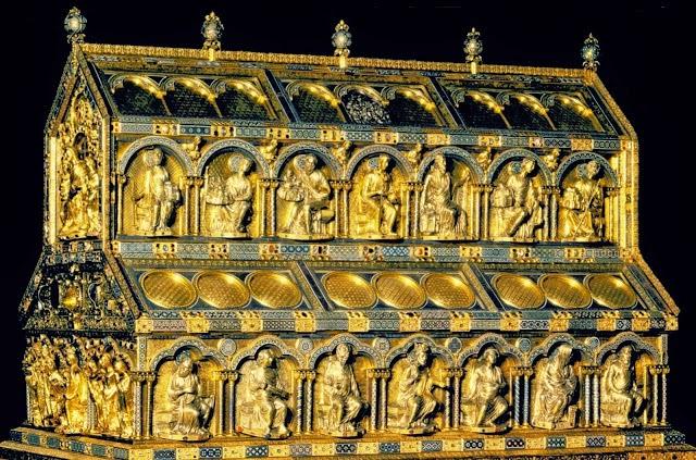Relicario de los Reyes Magos. Catedral de Colonia. - www.historiadelascivilizaciones.com
