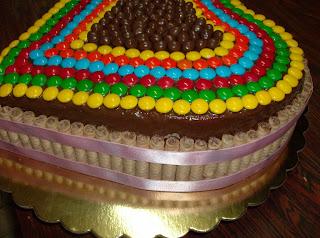 Torta Con Dandy  Ping Pong Y Pirulines