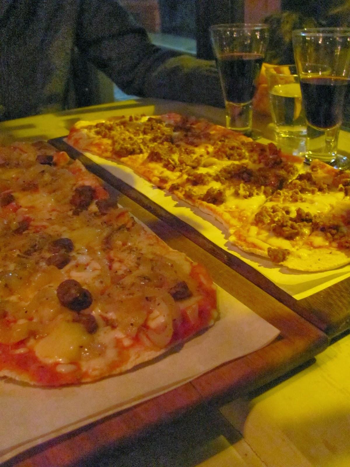 The Pizzas at Skinflint Dublin, Ireland