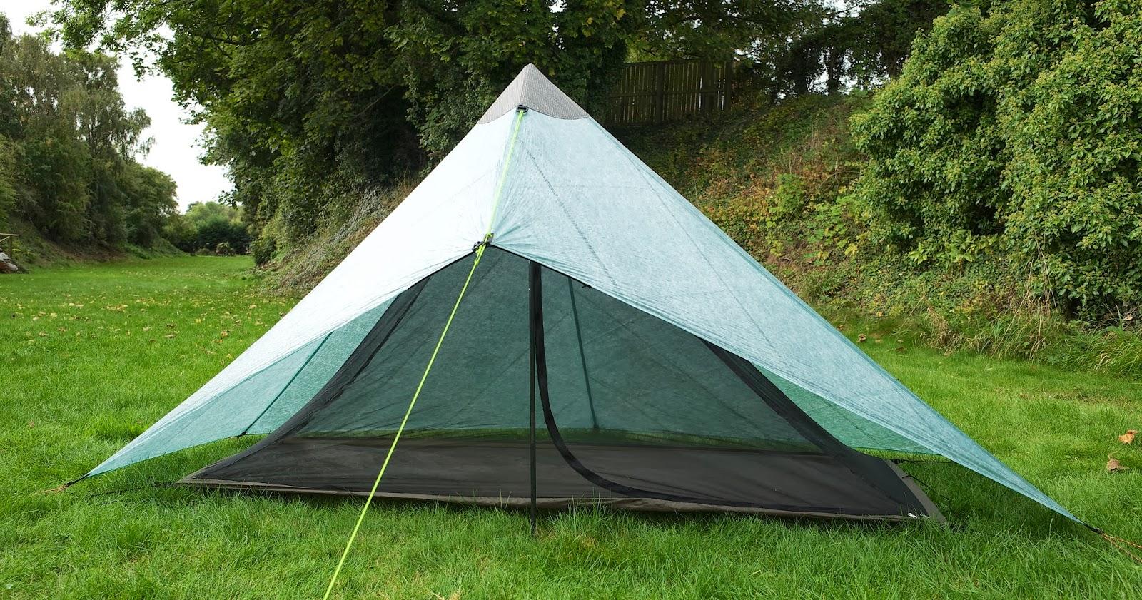 Finished MYOG cuben shelter & Tramplite Gear: MYOG Cuben Fibre Shelter