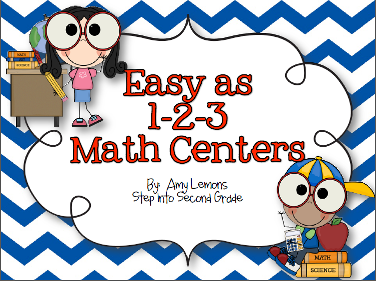 http://www.teacherspayteachers.com/Product/Easy-as-1-2-3-Math-Centers-284708