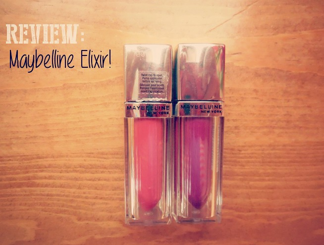 Product Review: Maybelline Color Elixir Lip Colors