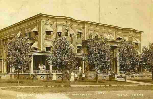 The Three Story Chesterfield Hotel Opened In 1902 And Was A Por Vacation Destination For Those Travelling Into Town On Interurban Railroad