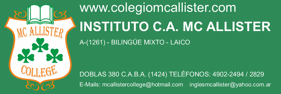 INSTITUTO C. A. MC ALLISTER