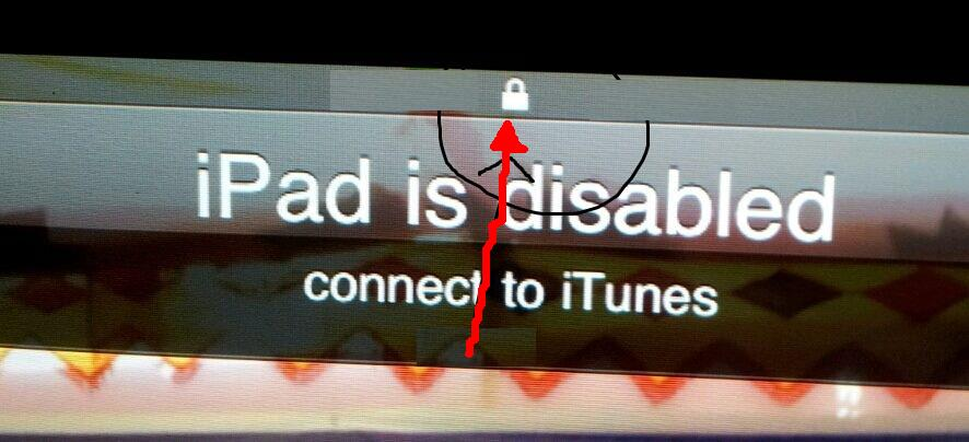 2012 how to fix quot ipad is disabled connect to itunes quot error in ipad