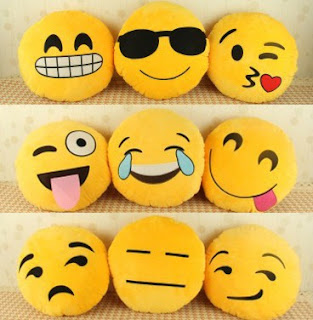 el yapımı emoji yastık