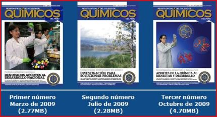 "REVISTA ""COLEGIO QUMICO DEL PER"""