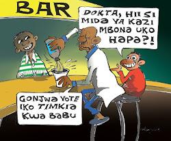 unapokutana na Daktari akakwambia maneno haya.........