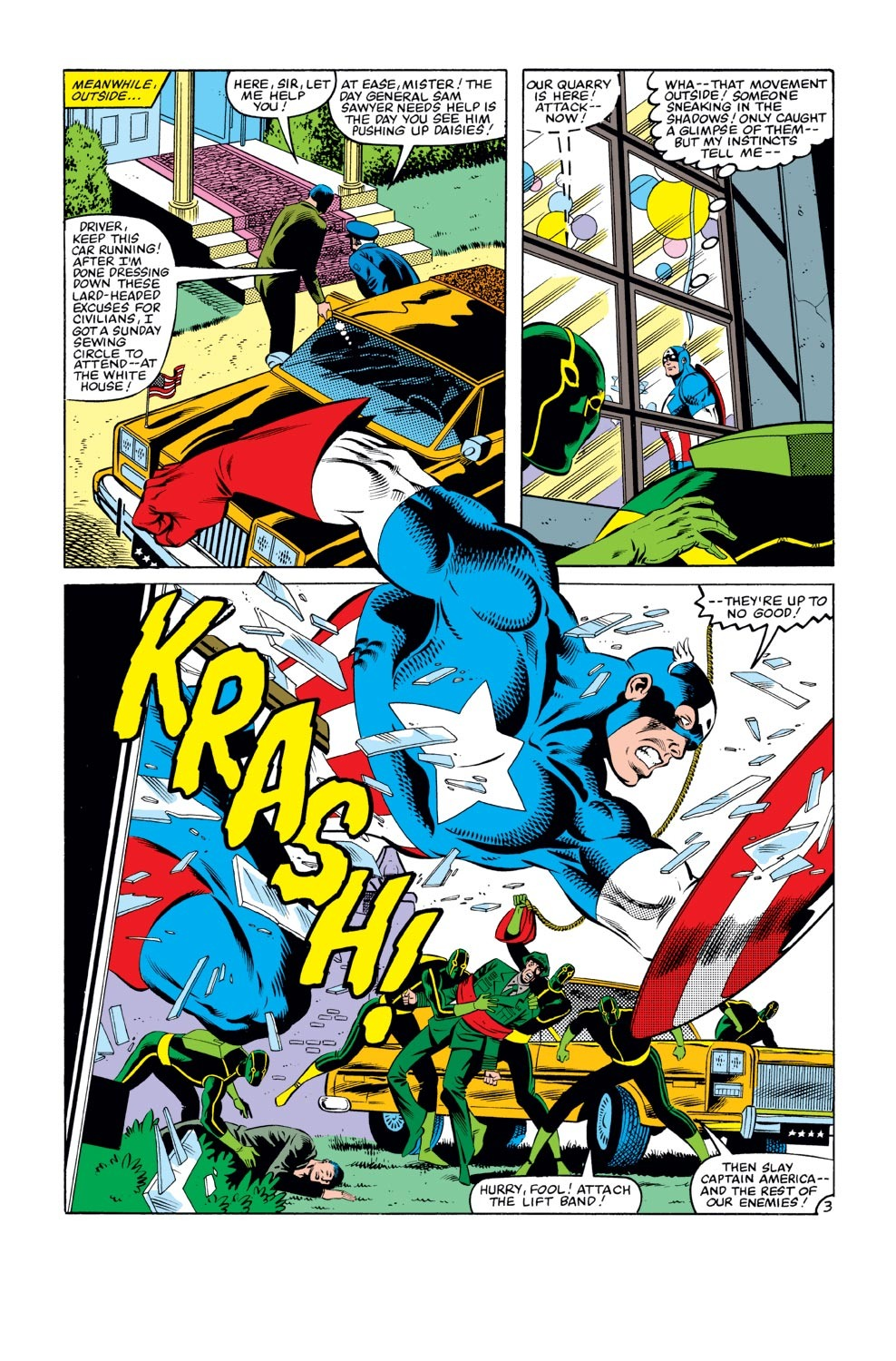 Captain America (1968) Issue #273 #189 - English 4
