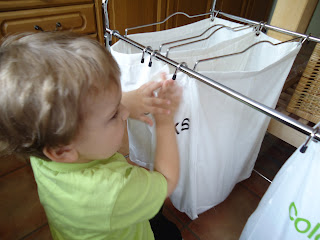 Baby Boy deciding which colour wash to do