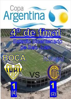 copa  Argentina 4º de final
