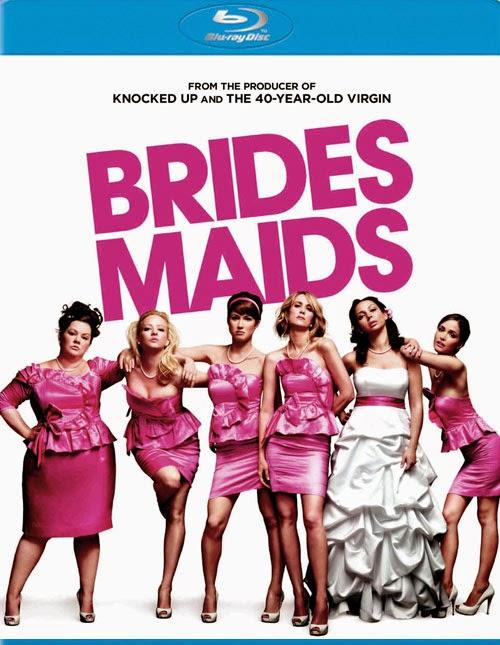 Bridesmaids 2011 Dual Audio [Hindi 5.1 - Eng 5.1] BRRip 720p Unrated