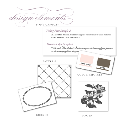 mix and match design elements font motif pattern border colors