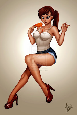 Michelle Soneja pin up girl