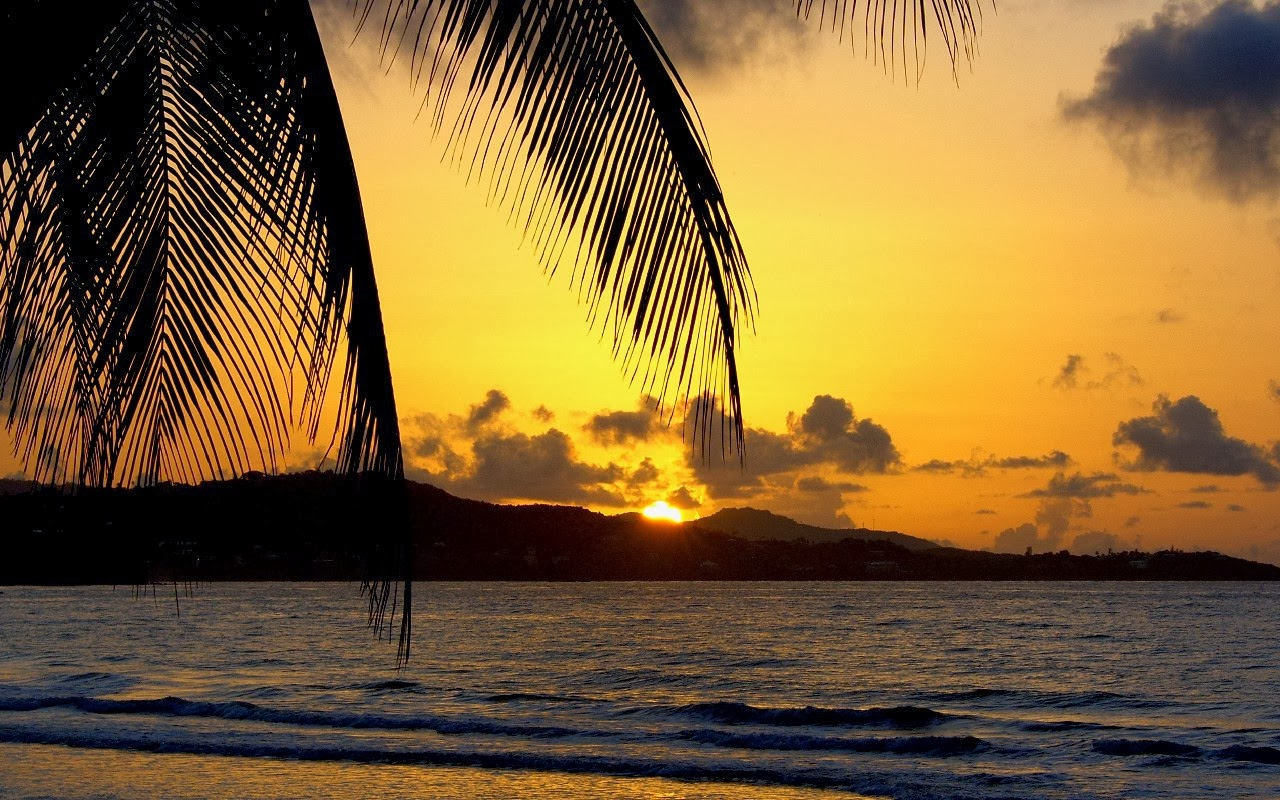 Sunrise photography : Scarborough Tobago