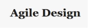 agiledesign.org