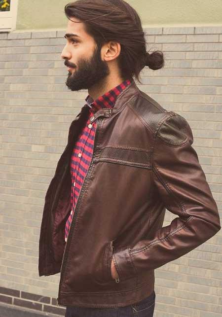 Beautiful half ponytail hairstyle for men in 2015 best haircuts beautiful half ponytail hairstyle for men in 2015 urmus Choice Image