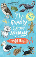 My Family and Other Animals by Gerald Durrell book cover