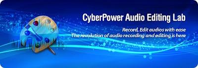 برنامج تعديل الصوت CyberPower Audio Editing Lab مجانا لتعديل الصوتيات واضافة المؤثرات