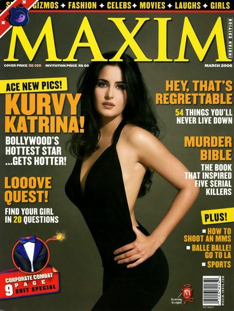 Katrina Kaif Maxim Cover page