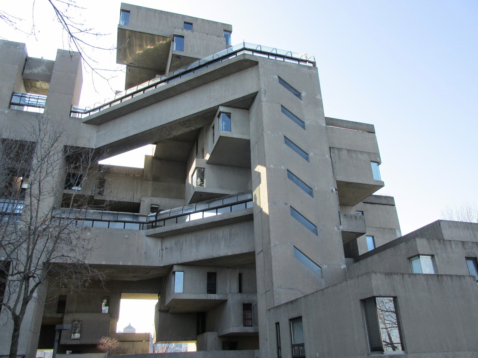 Habitat 67 a brutalist dream come true kaleidoscope flux for Habitat 67 architecture