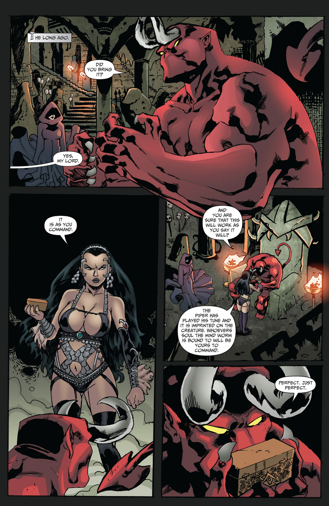 Grimm Fairy Tales (2005) Issue #68 #71 - English 3