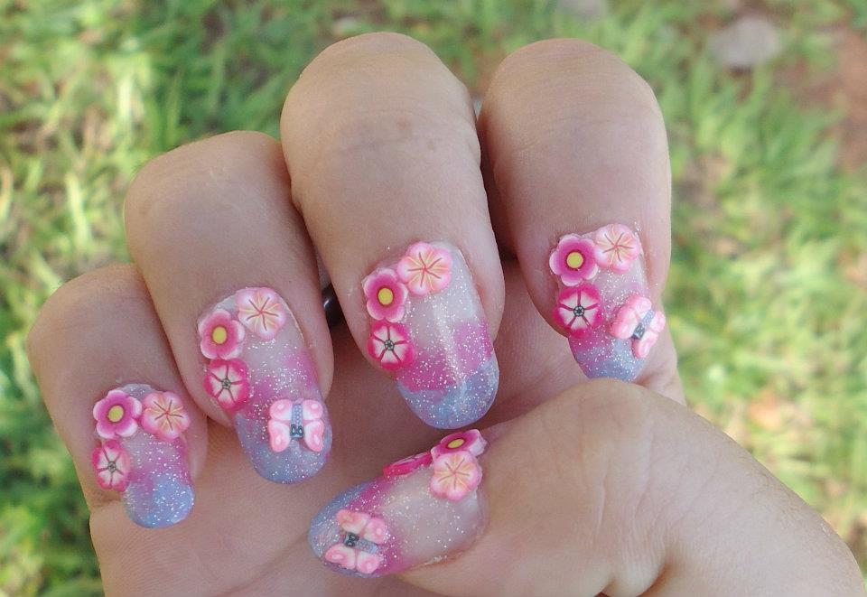 nails 8 Desenhos de unhas Inspirados na Primavera