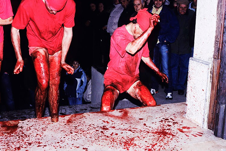 Easter in Italy: Flagellant of verbicaro