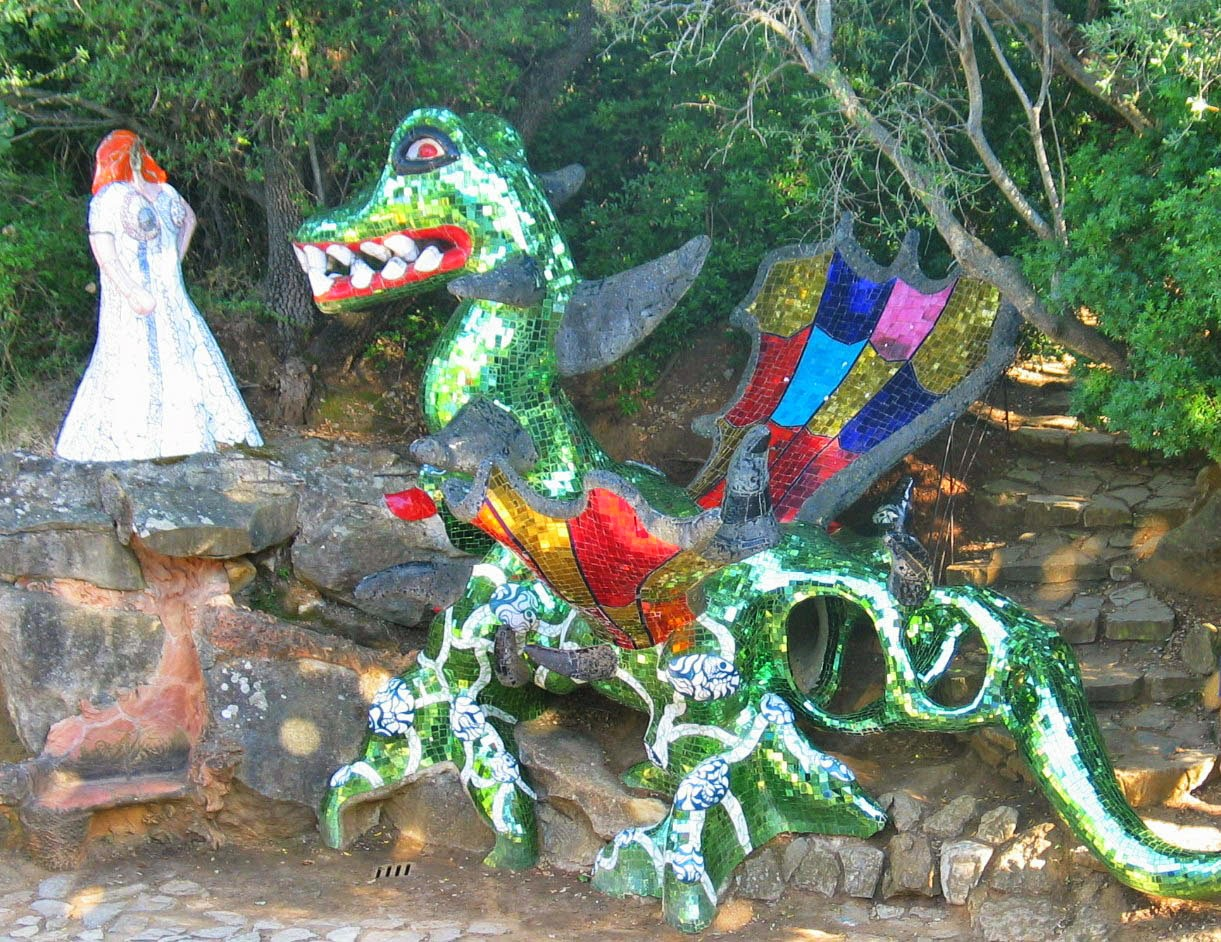 Le yoga de l 39 art niki de saint phalle le jardin des tarots - Niki de saint phalle jardin des tarots ...